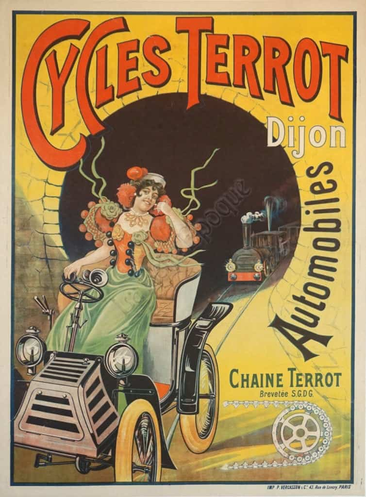 Cycles Terrot Vintage Posters