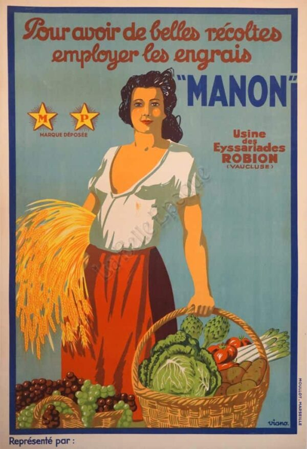 Manon Vintage Posters
