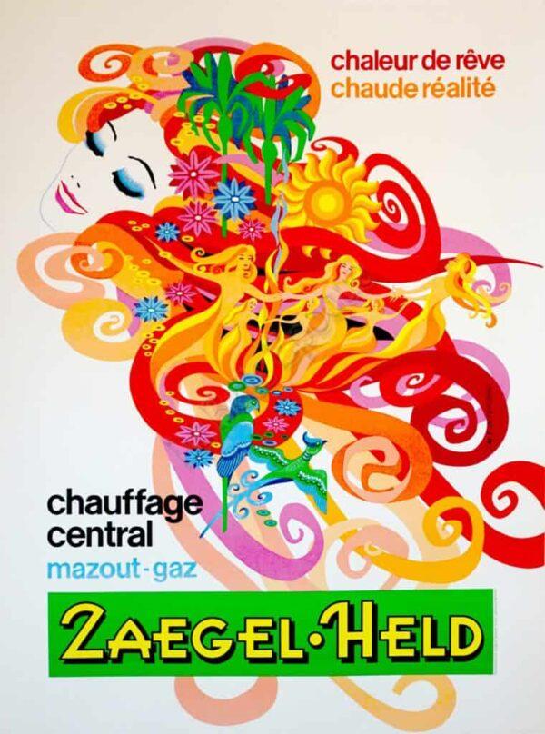 Zaegel Held Vintage Posters