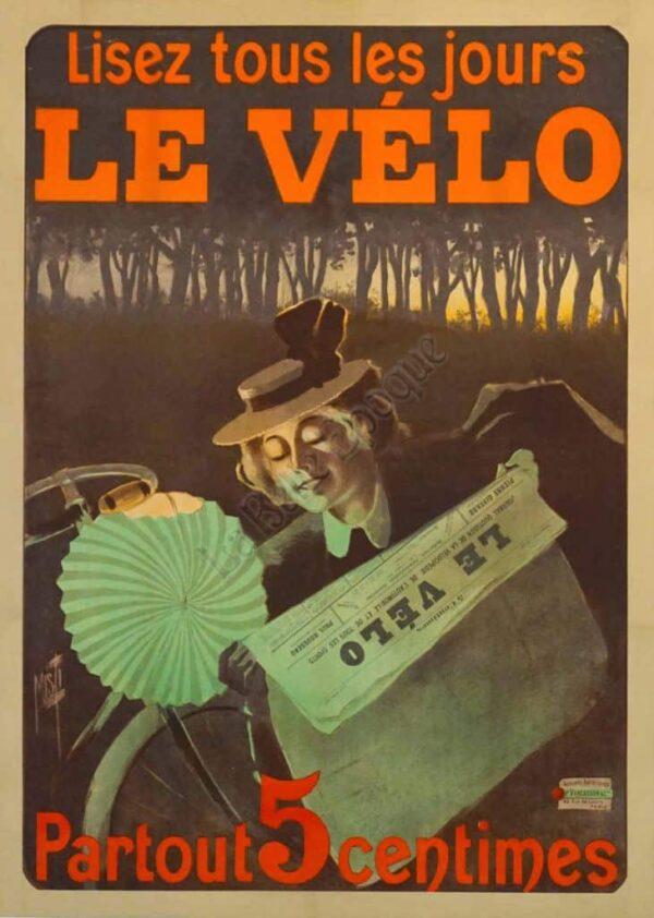 Le Velo Vintage Posters