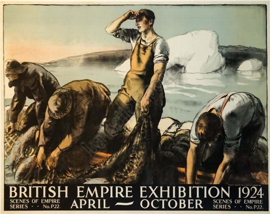 British Empire Exhibition 1924 Vintage Posters