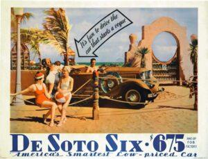 De Soto Six Vintage Posters