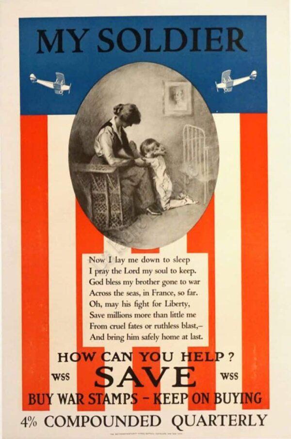 My Soldier Vintage Posters