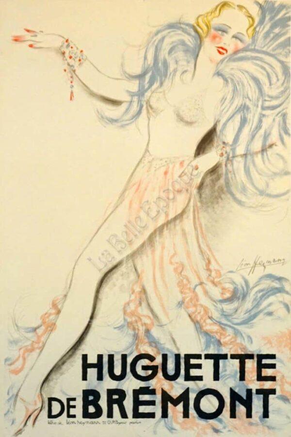 Huguette de Bremont Vintage Posters