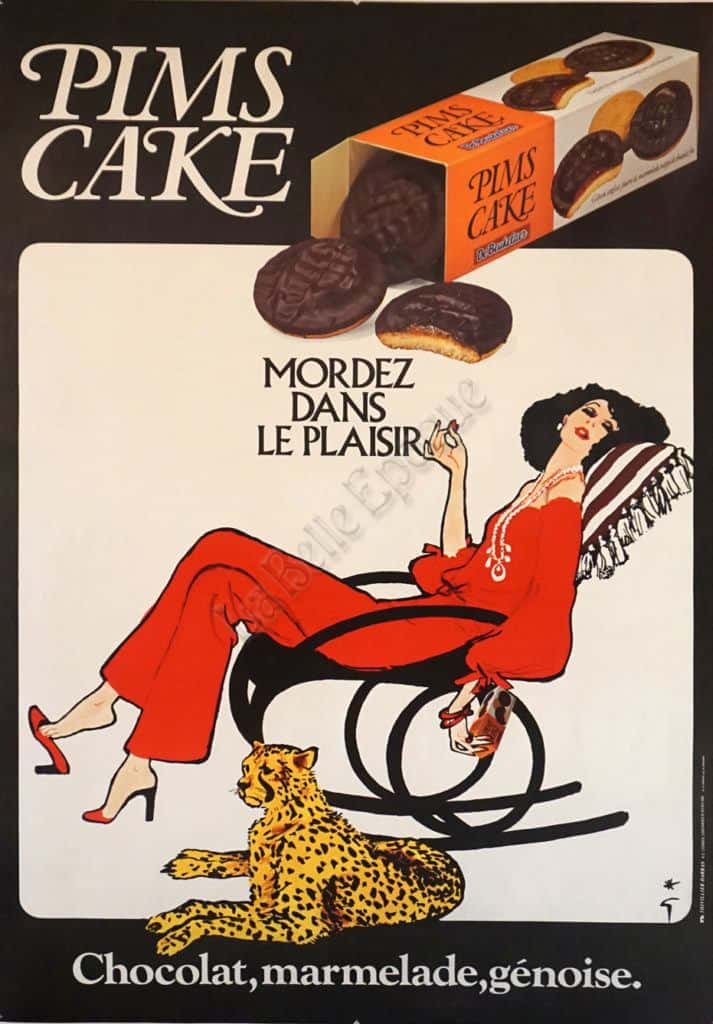 Pims Cake Vintage Posters
