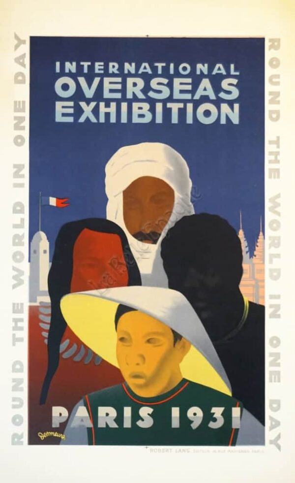 Overseas Exhibition Vintage Posters
