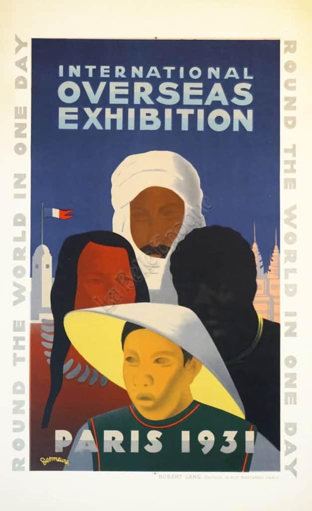 Overseas Exhibition Vintage Posters