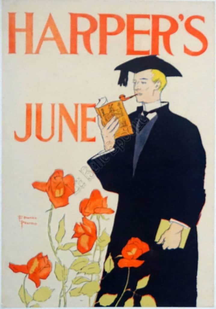 Harper's June Vintage Posters