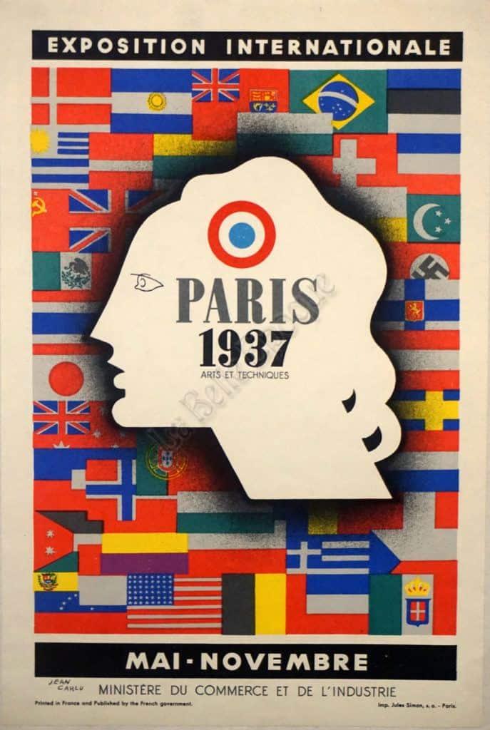 Paris 1937 Vintage Posters