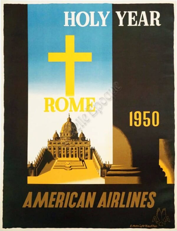 Holy Year Rome Vintage Posters