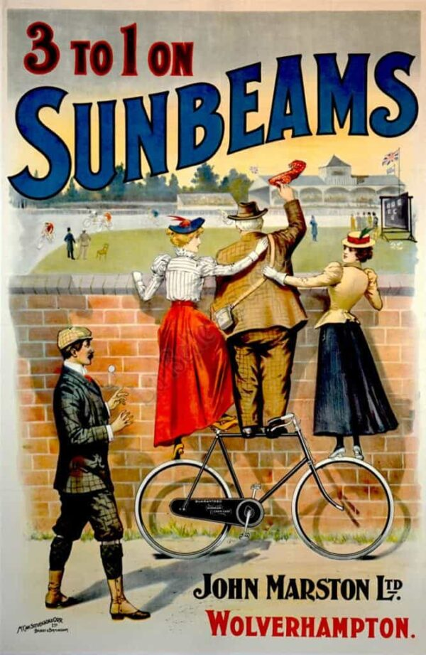 3 to 1 on Sunbeams Vintage Posters