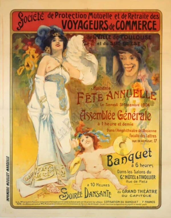 Banquet Vintage Posters
