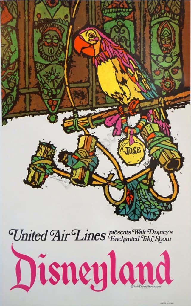 Disneyland Vintage Posters