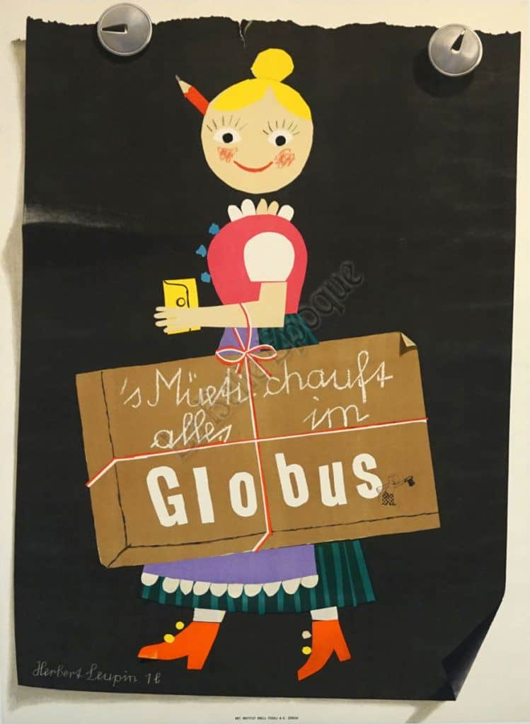 Globus vintage Posters