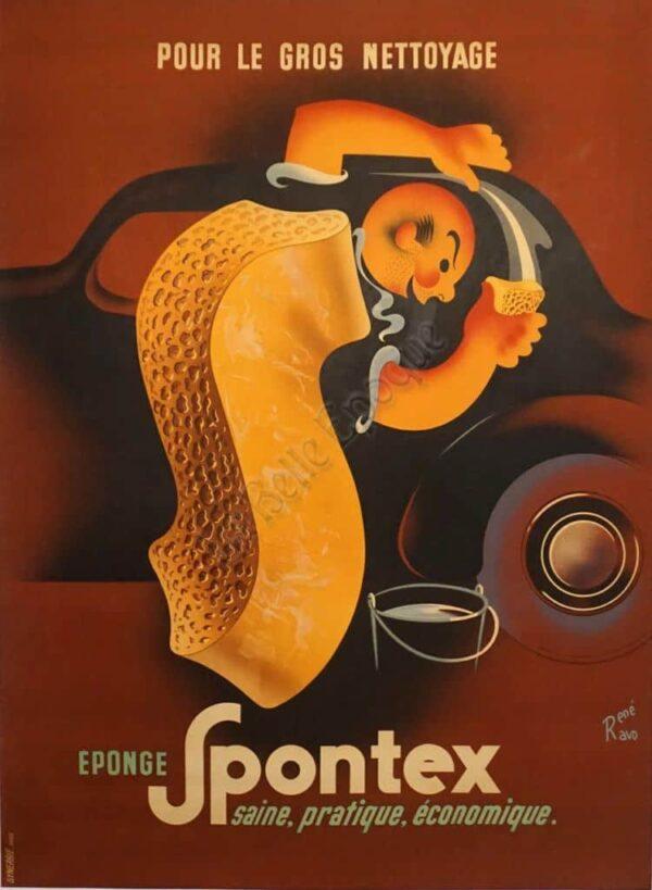 Spontex Vintage Posters