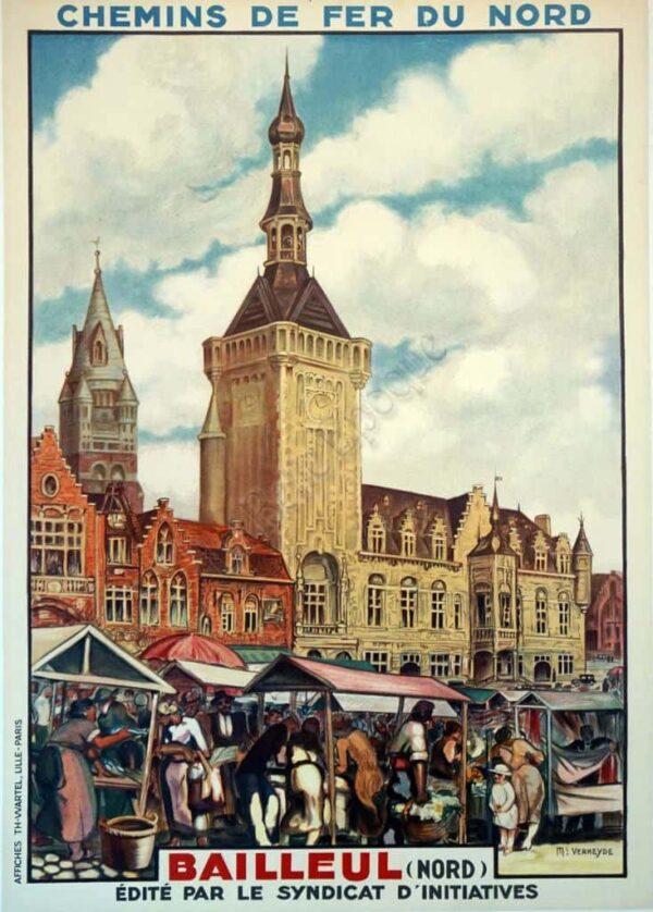 Chemins de fer du Nord Vintage Posters