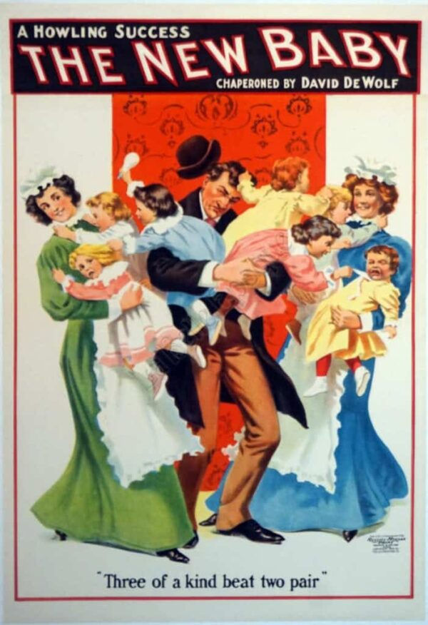 The New Baby Vintage Posters