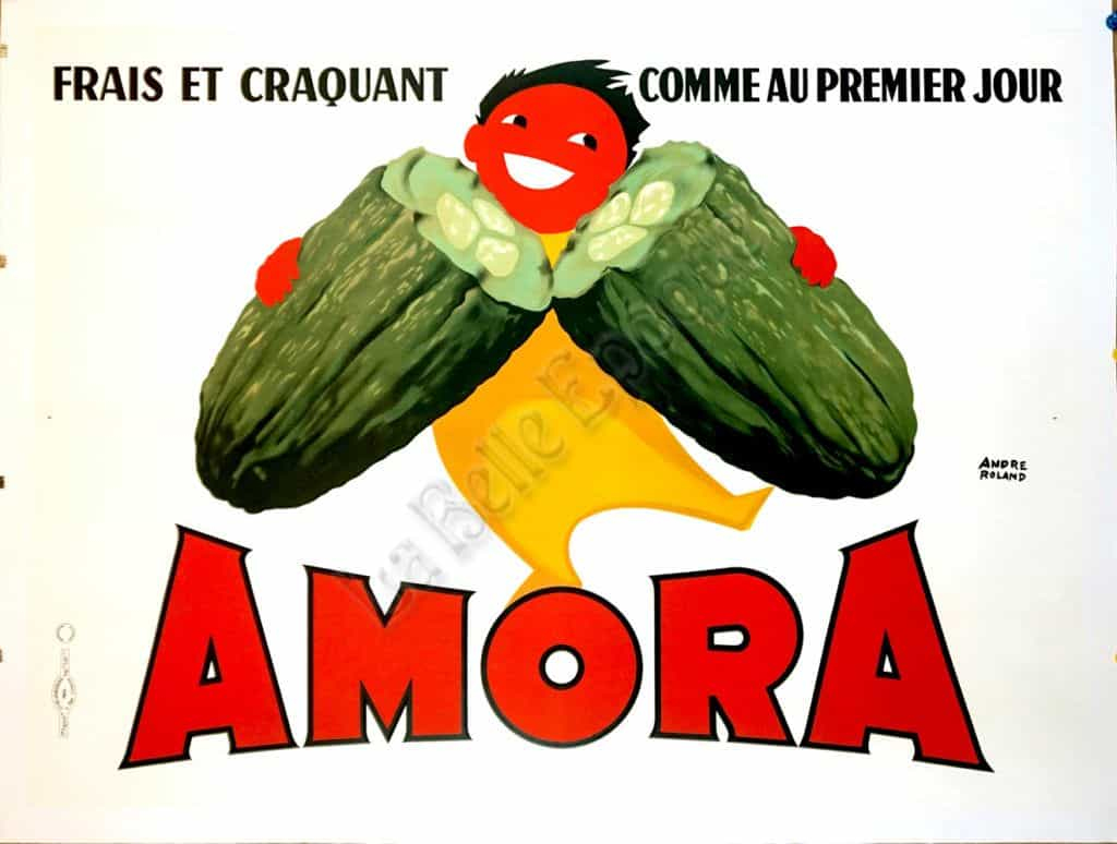 Amora Vintage Posters