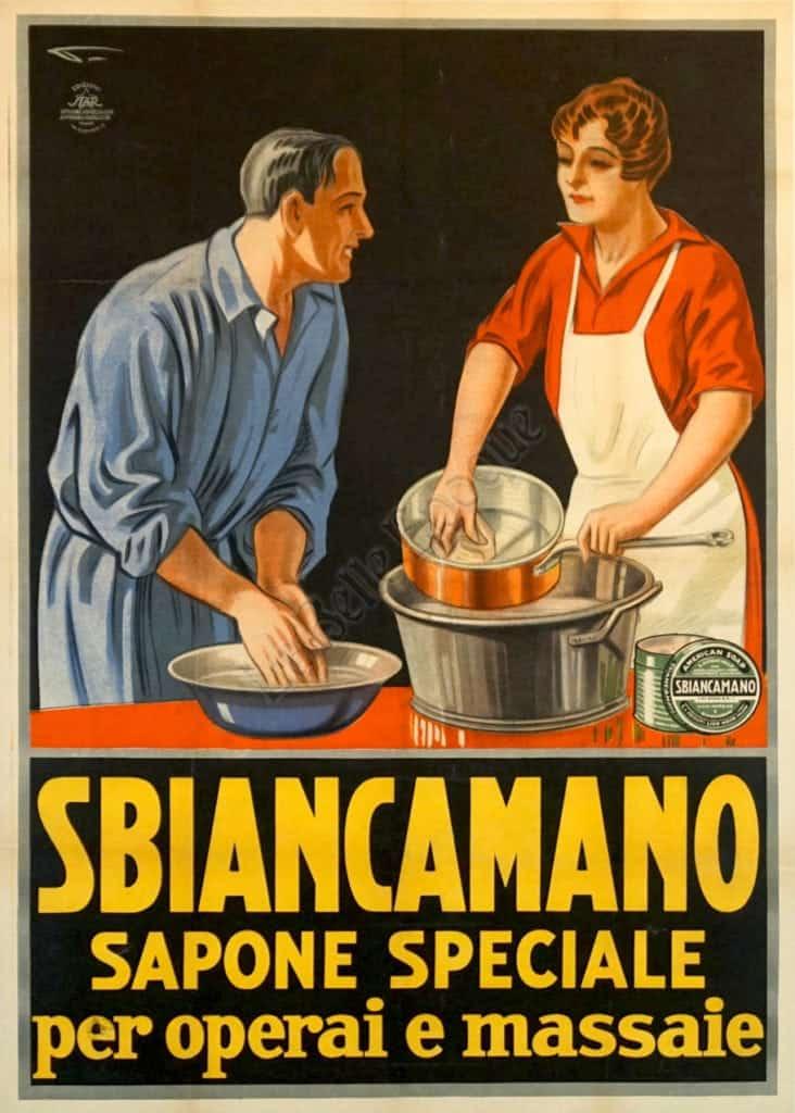 Sbiancamano Vintage Posters