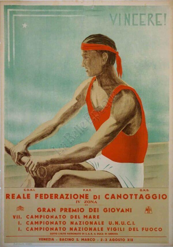 Vincere! Vintage Posters