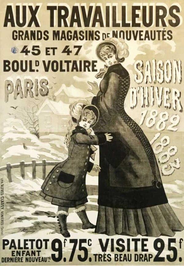 Aux Travailleurs Vintage Posters