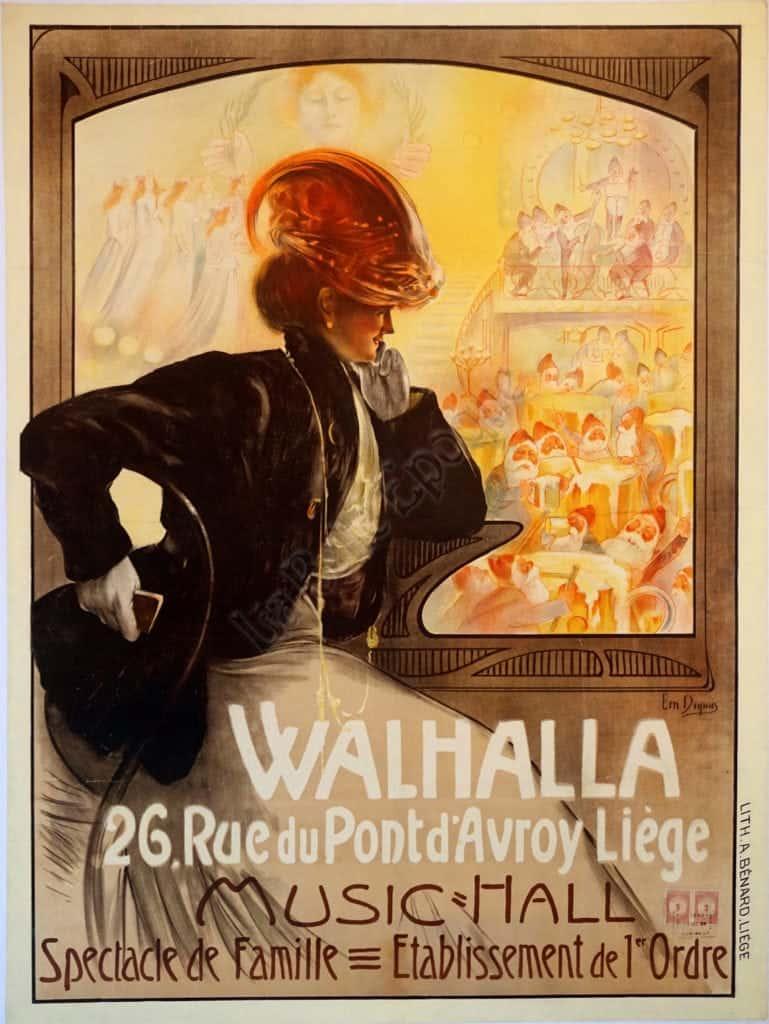 Walhalla Vintage Posters