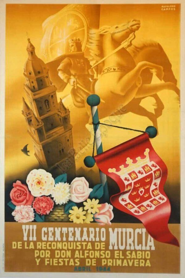 Centenario Murcia Vintage Posters