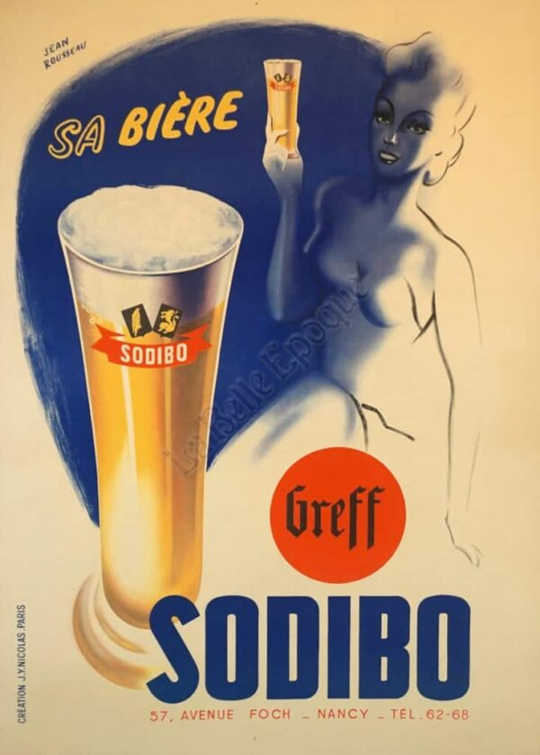 Sa Biere Sodibo Vintage Posters
