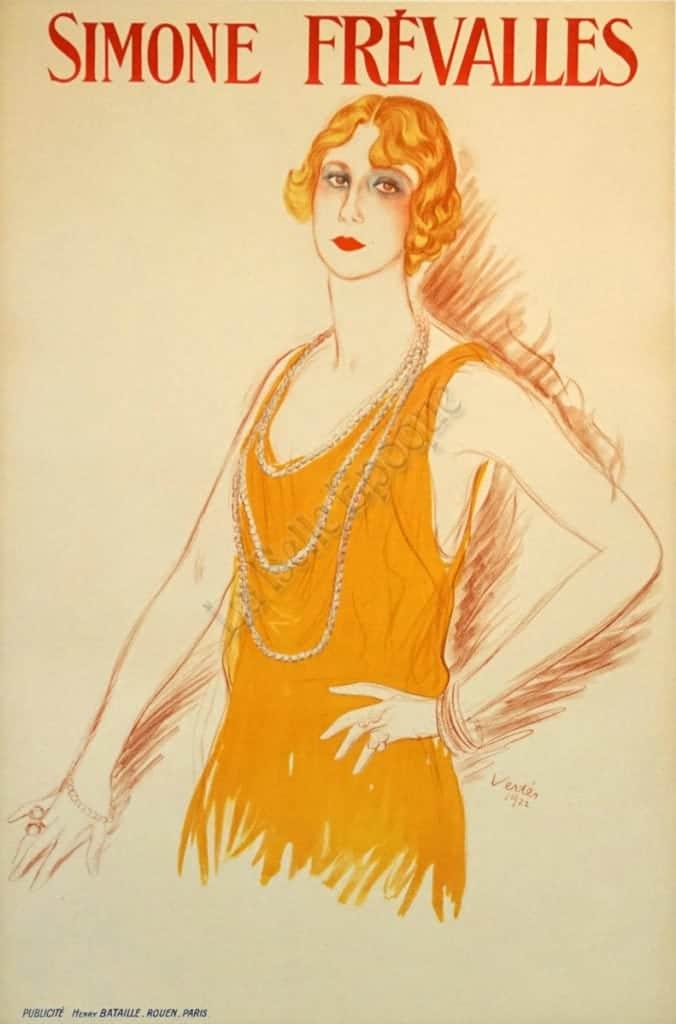 Simone Frevalles Vintage Posters