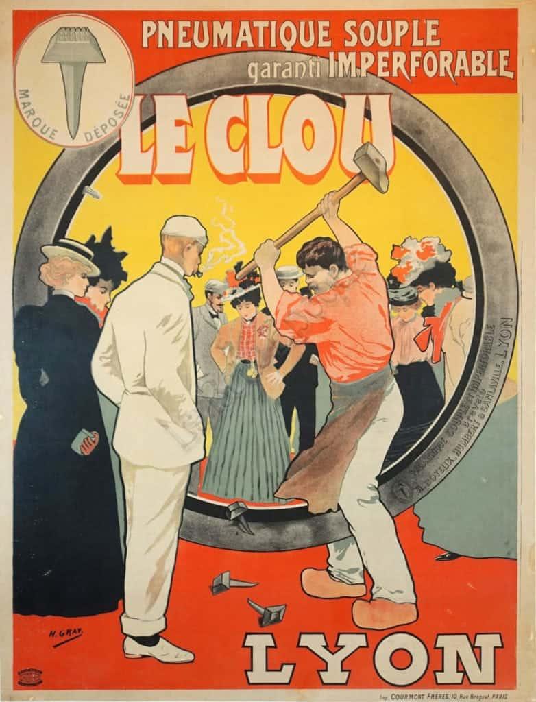 Le Clou Lyon Vintage Posters
