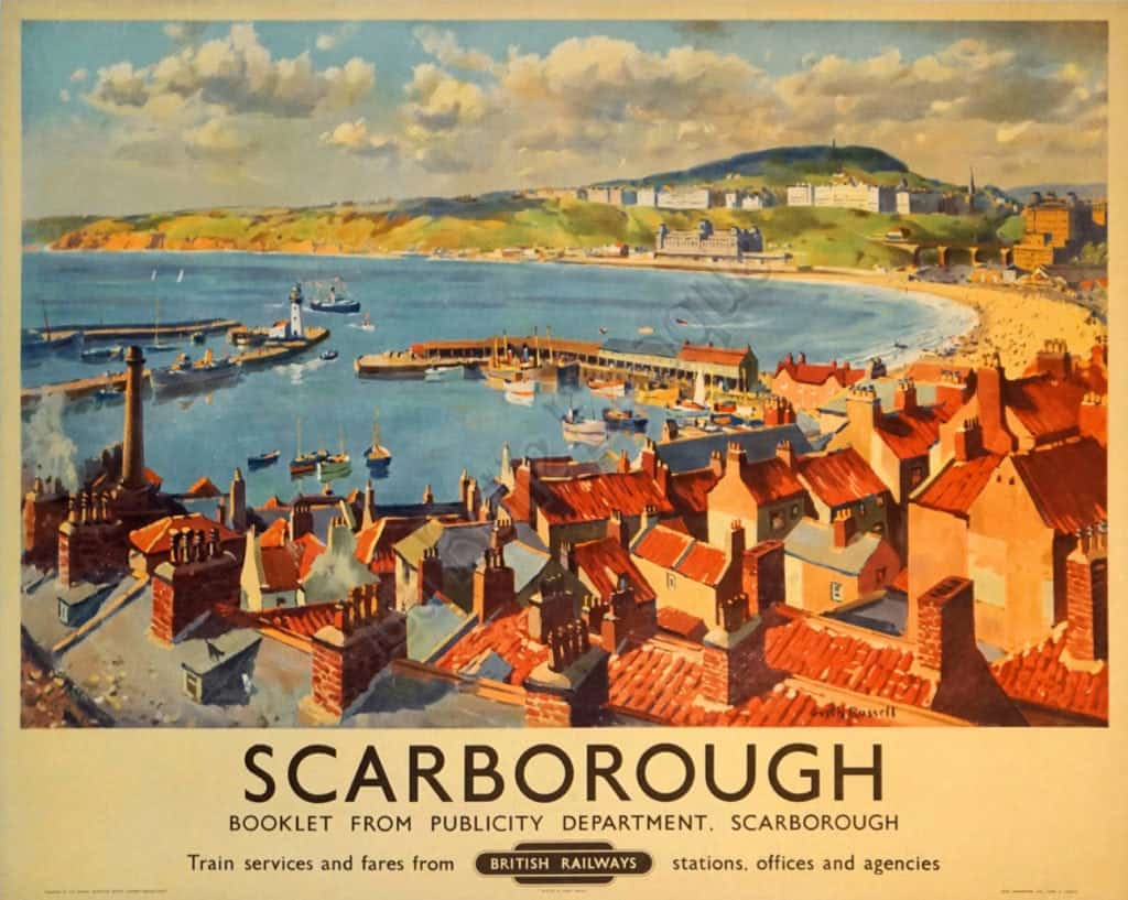 Scarborough Vintage Posters