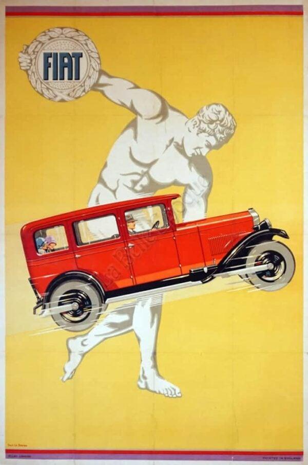 Fiat Vintage Posters