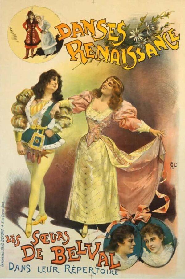 Danses Renaissane Vintage Posters