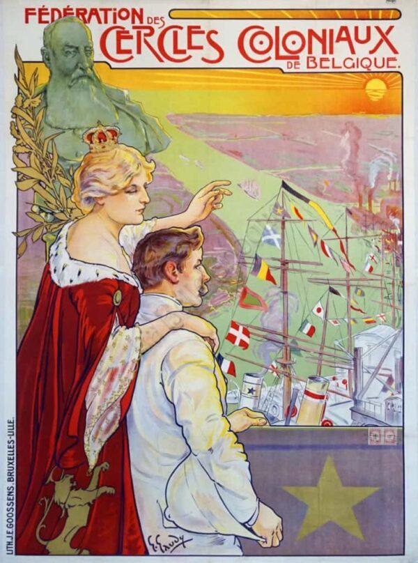 Federation des Cercles Coloniaux Vintage Posters