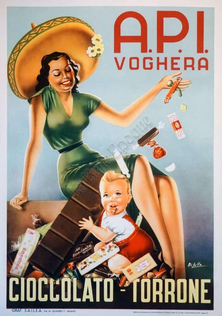 API Voghera Vintage posters