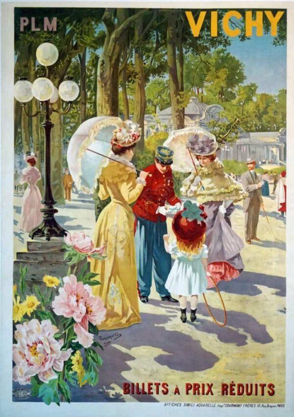 Vichy Vintage Posters