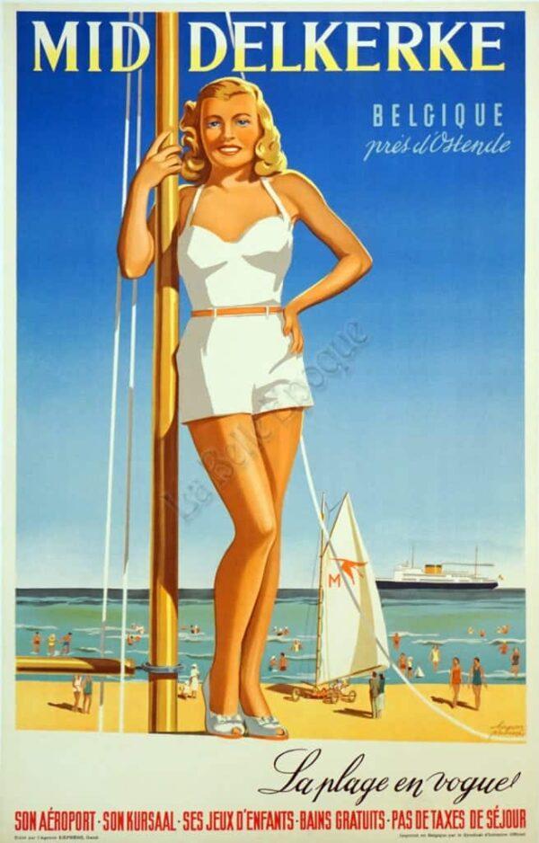 Mid Delkerke Vintage Posters