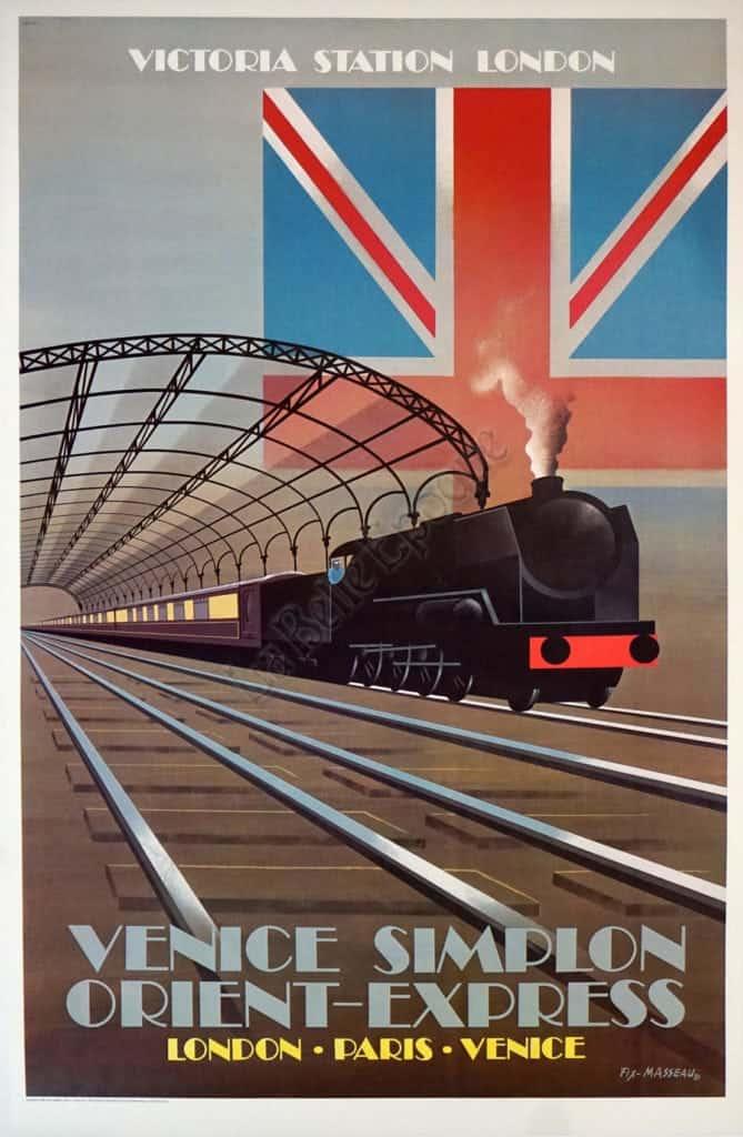 Venice Simplon Orient-Express Vintage Posters
