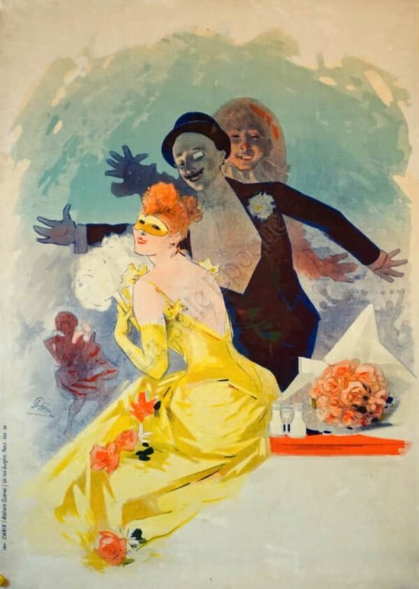 Carnival Cheret Vintage Posters