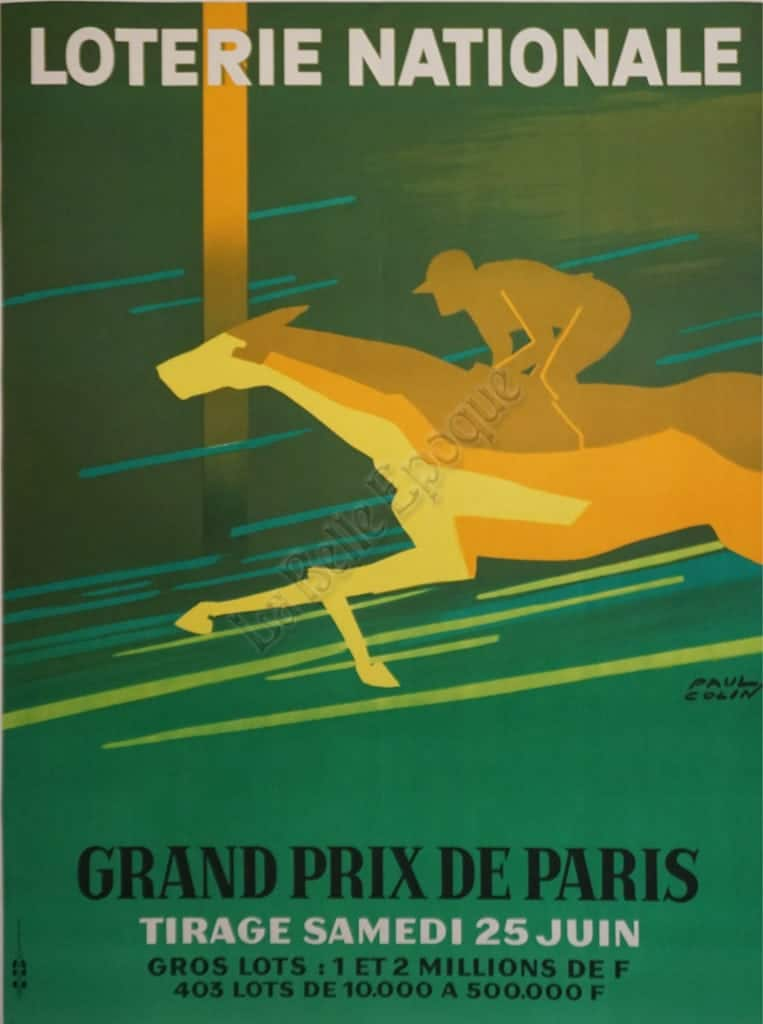 Loterie Nationale Vintage Posters