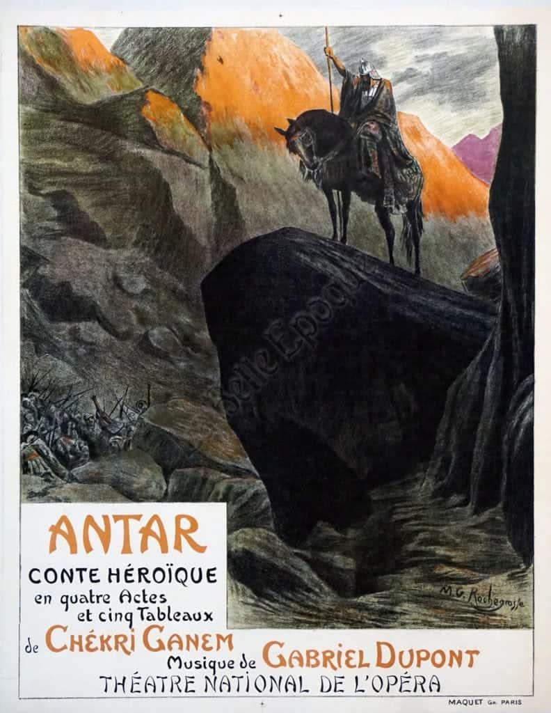 Antar Conte Heroique Vintage Posters