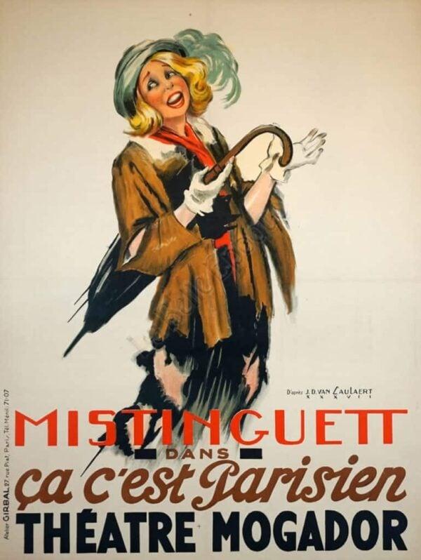 Mistinguett Vintage Posters