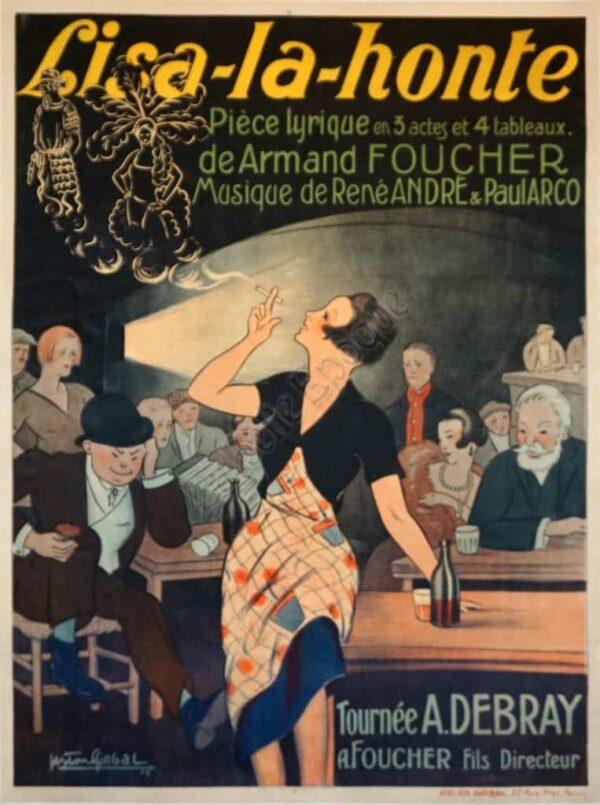 Lisa-la-honte Vintage Posters