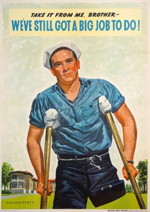 We've still got a big job to do! Vintage Posters