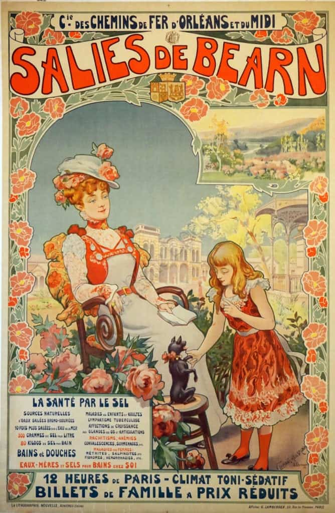 Salies De Bearn Vintage Posters