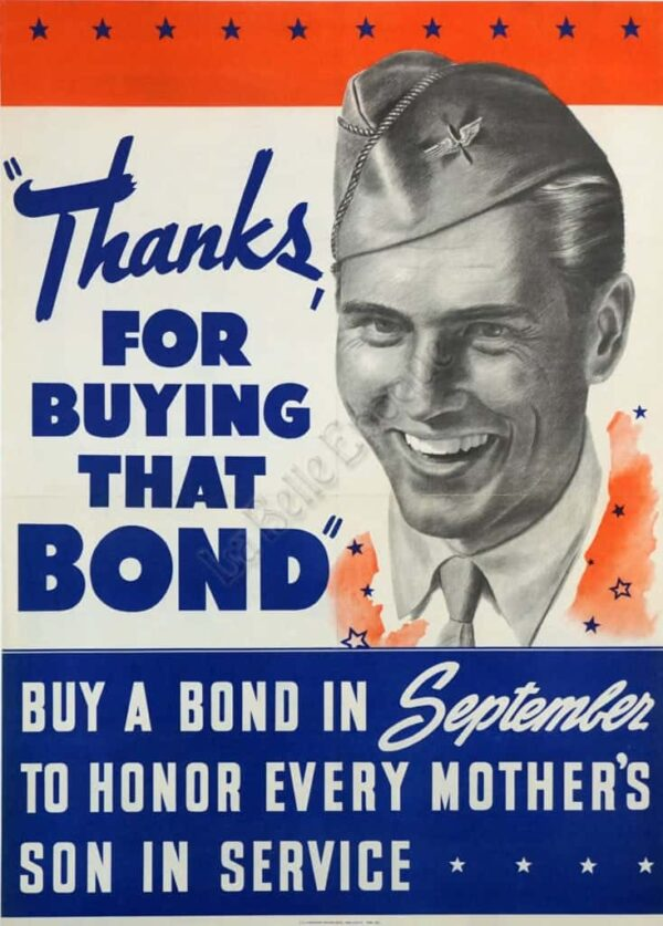 Thanks for buying that Bond Vintage Posters