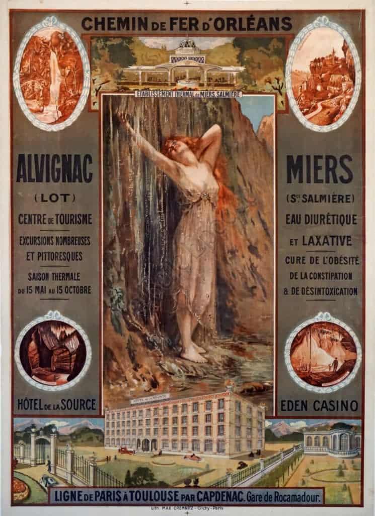 Chemin de Fer d'Orleans Vintage Posters