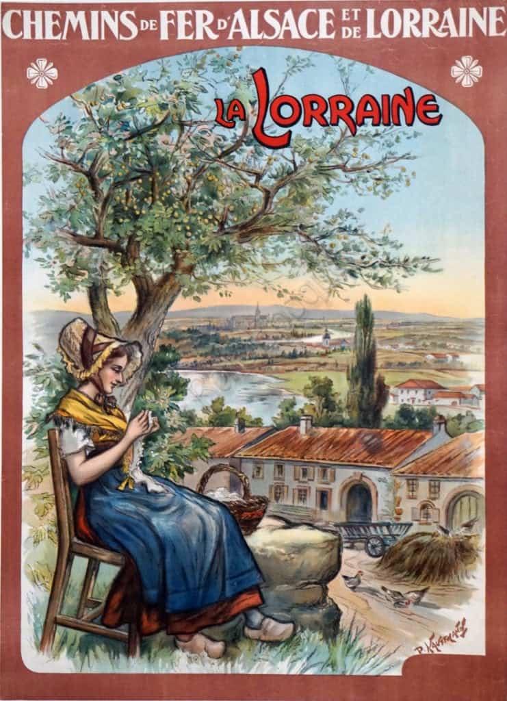 La Lorraine Vintage Posters