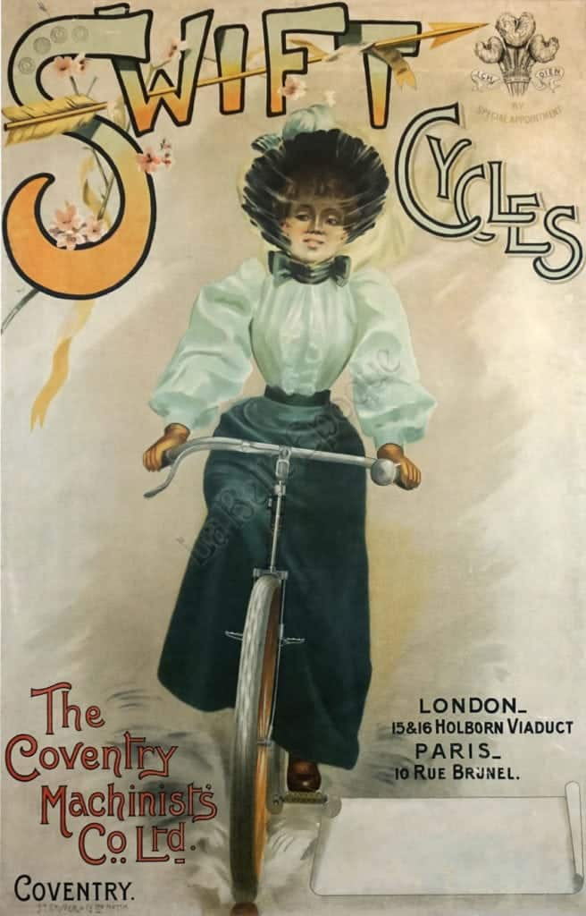 Swift Cycles Vintage Posters