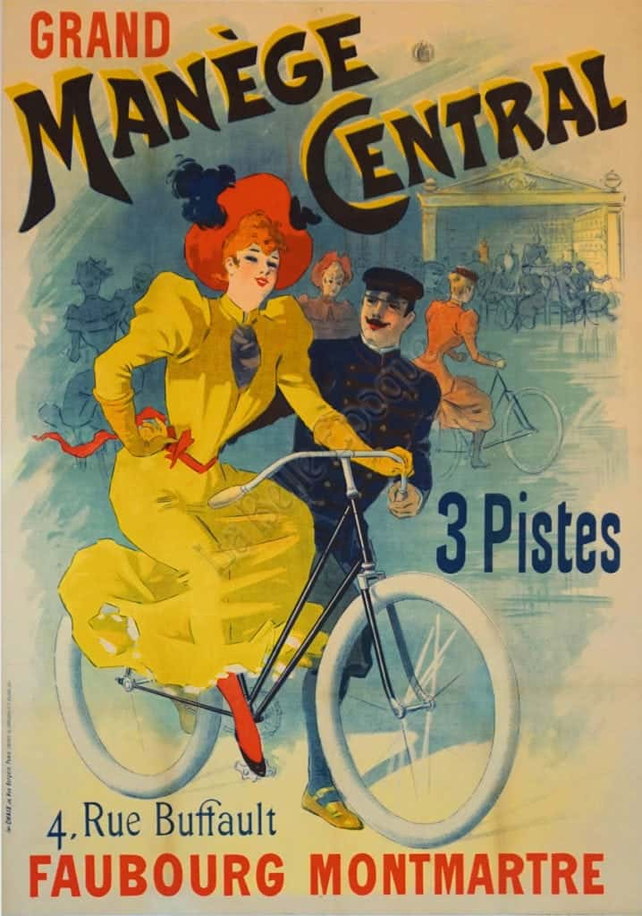 Vintage Cycles Poster Manege Central